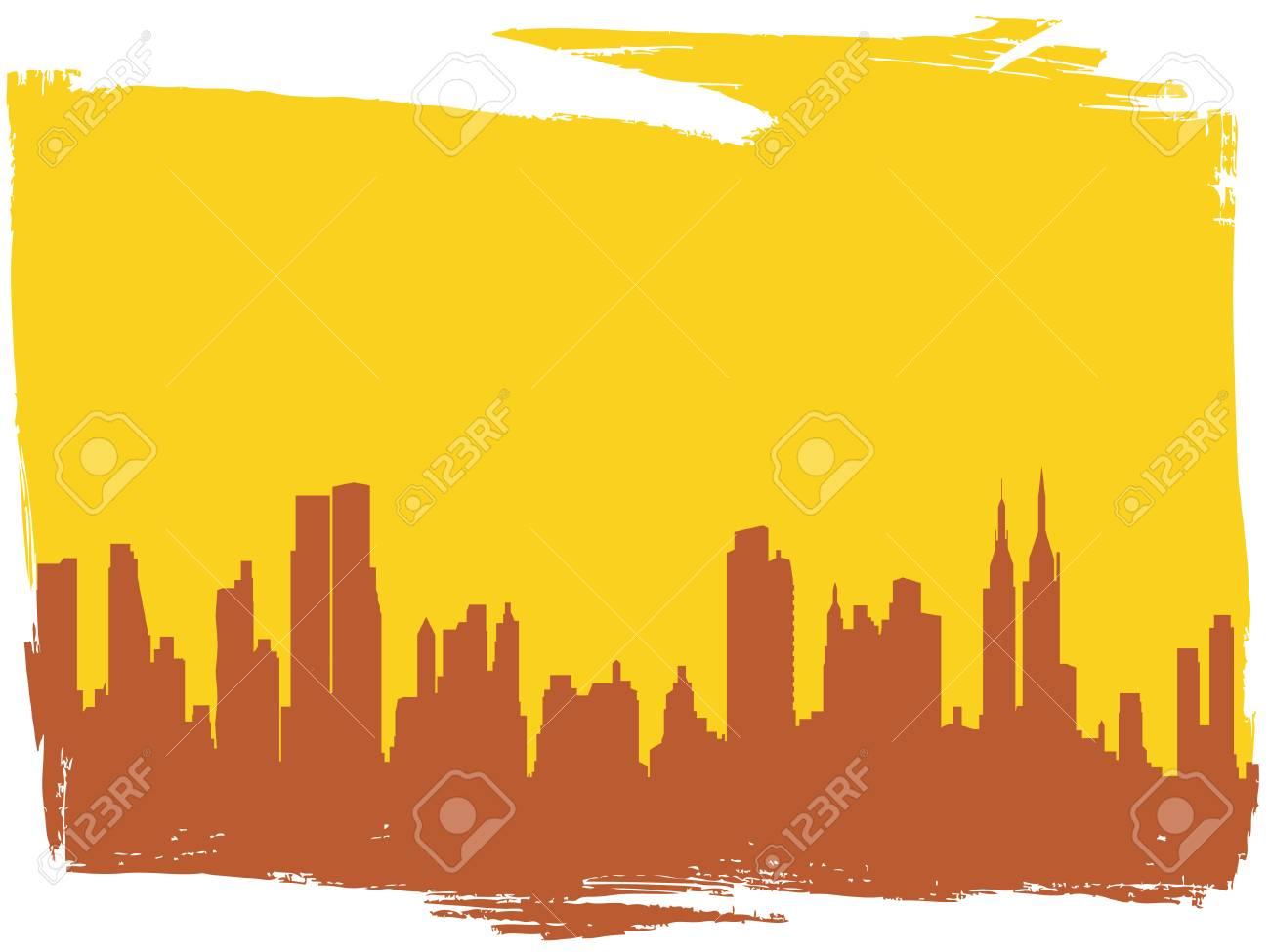 modern cityscape Stock Vector - 7158325