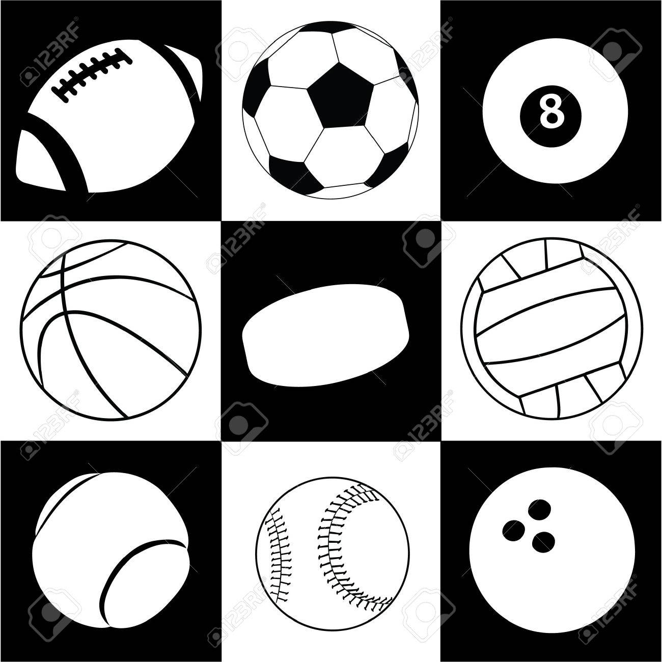 balls Stock Vector - 7414521