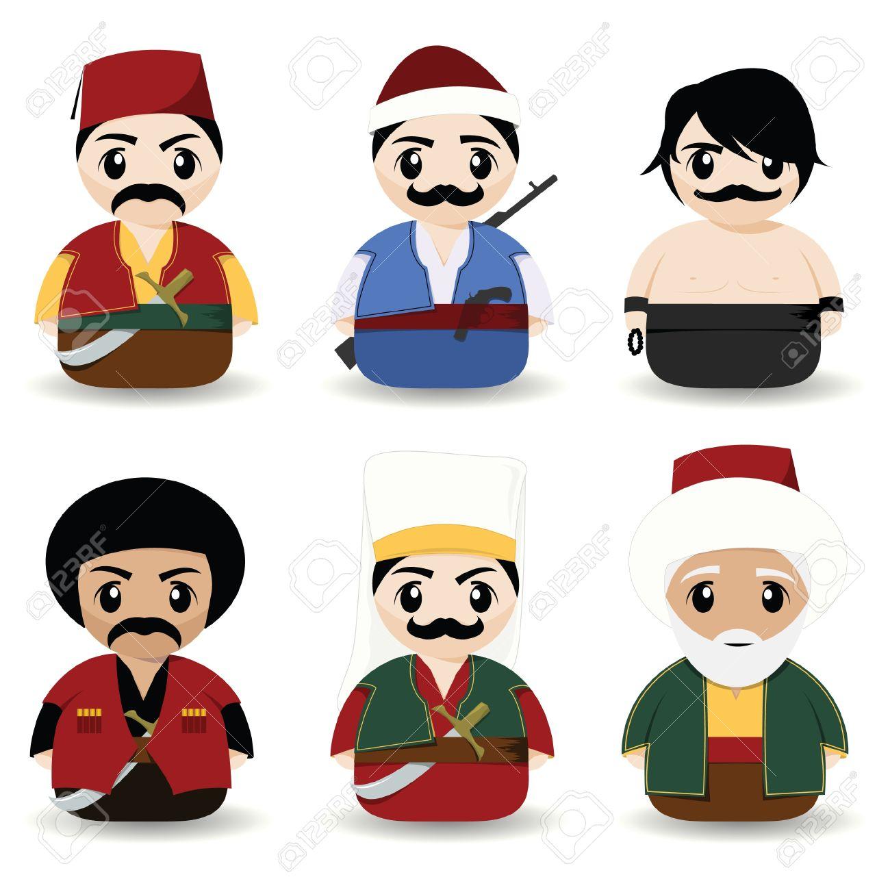 hommes turques traditionnelles Banque d'images - 9473841