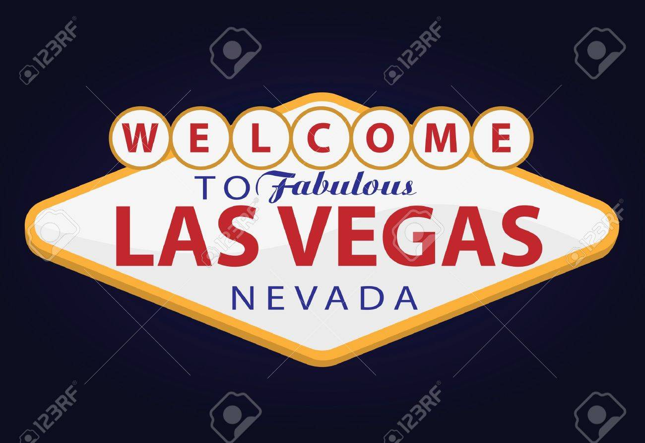 Bienvenue à Las Vegas Banque d'images - 10714320