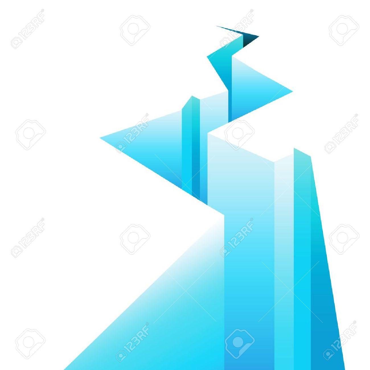 écart de la glace Banque d'images - 14039636
