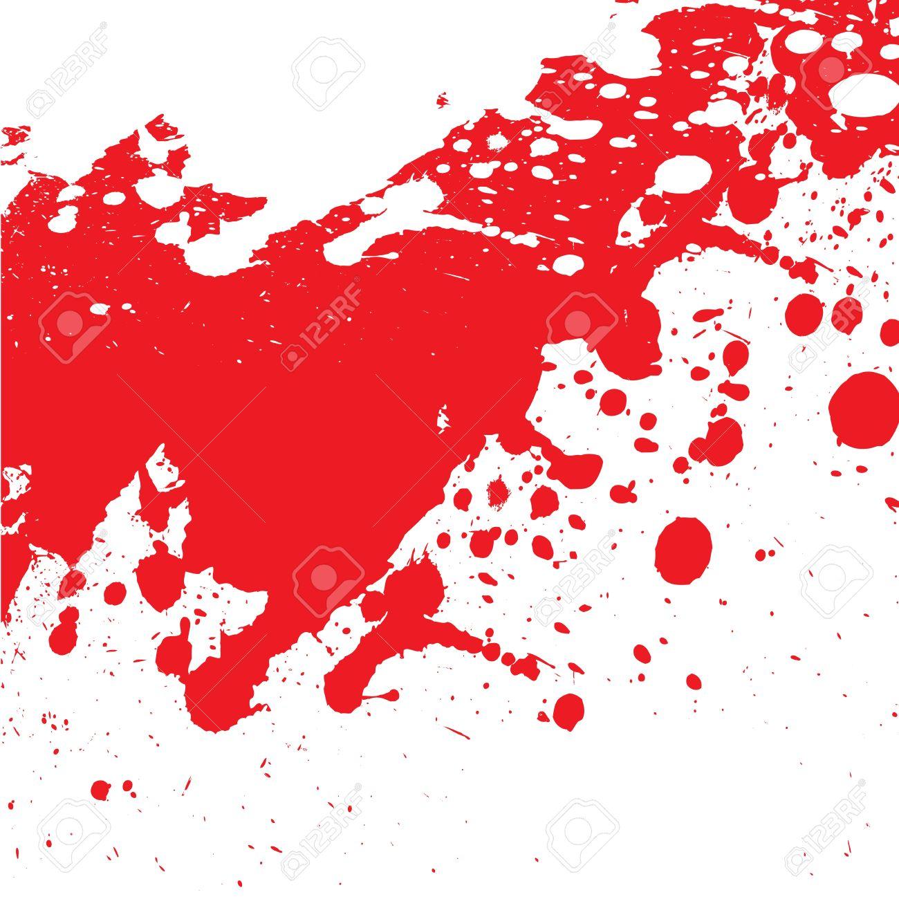 éclaboussure sanglante Banque d'images - 19275009