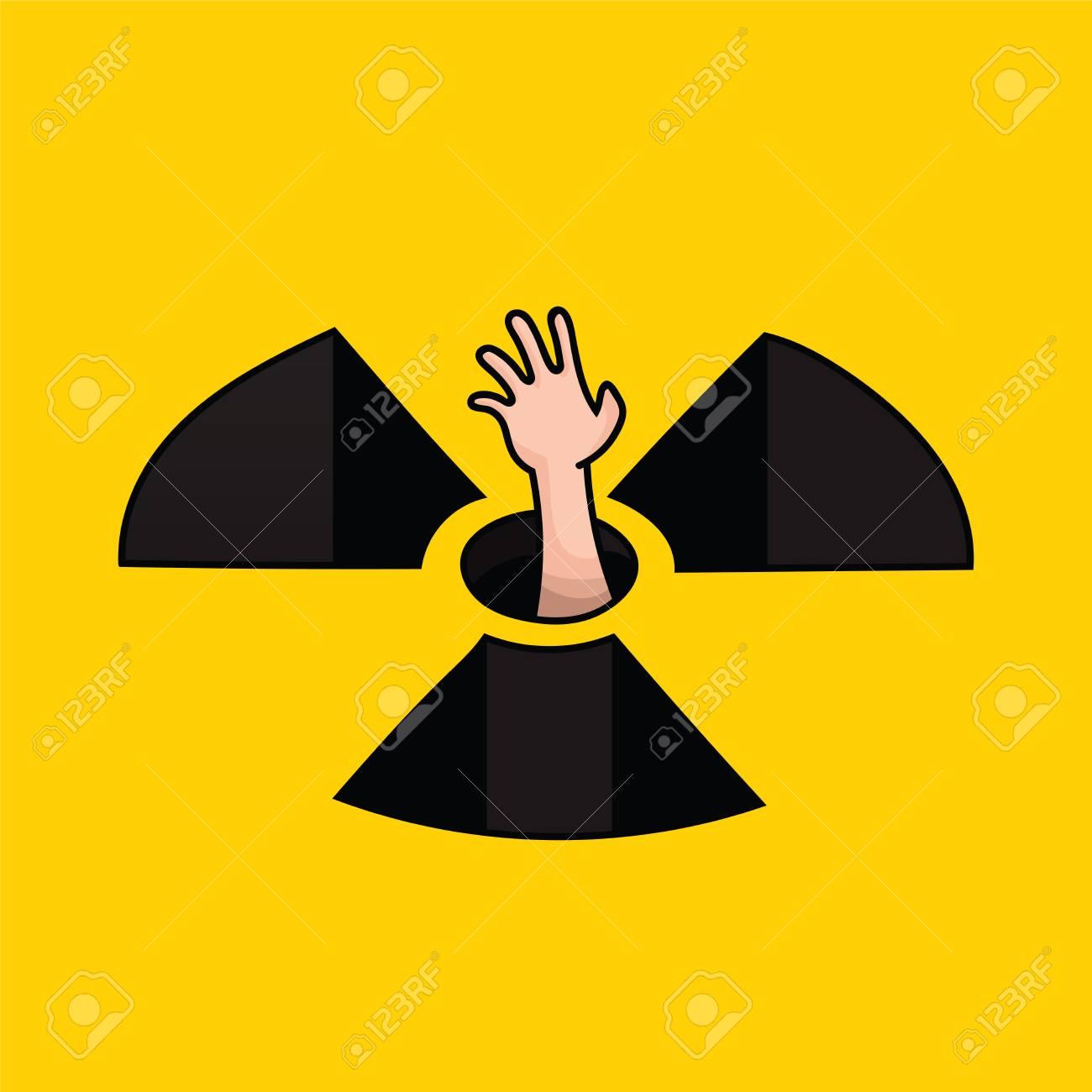反原発キャンペーンのベクトル図のイラスト素材ベクタ Image 48075819