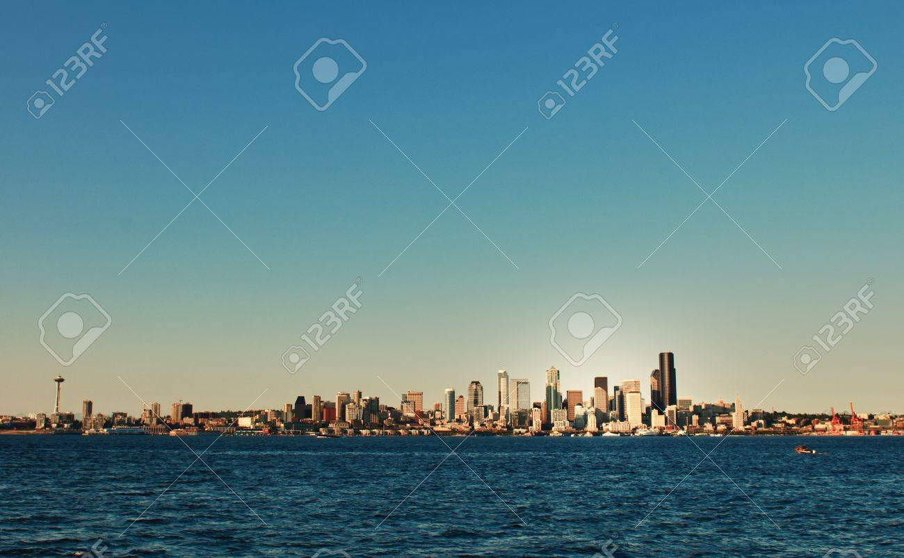 Seattle Skyline as Seen Some