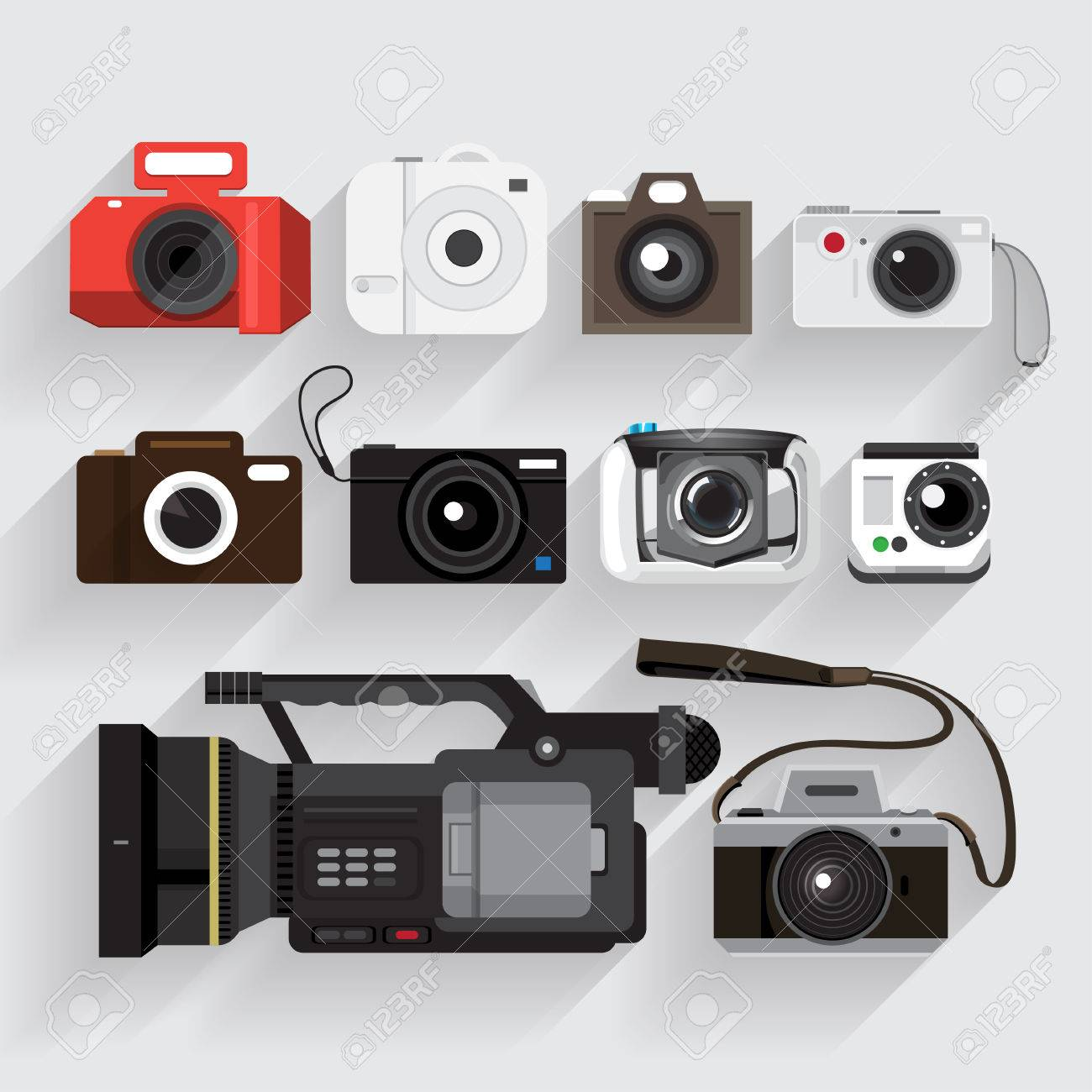 Video Recorder Vector And Video Recorder Vector