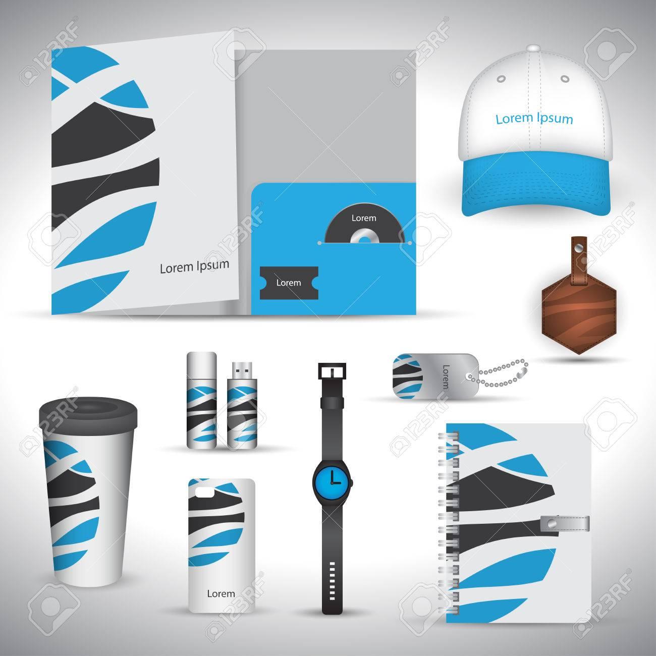 Stationery Set Design / Gift Set Template / Corporate Identity ...