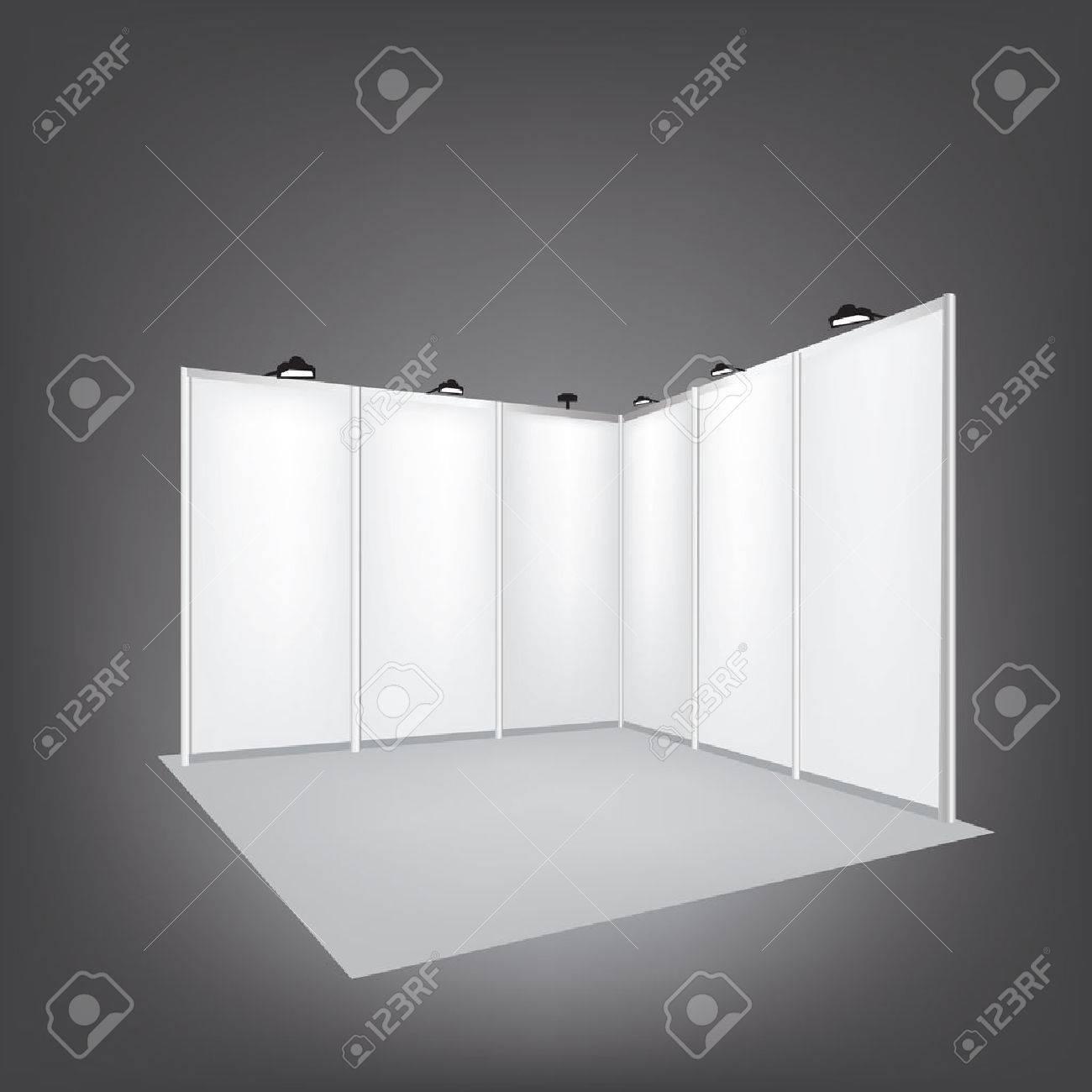 Trade Exhibition Stand Vector : Vector blank trade exhibition stand royalty free cliparts vectors