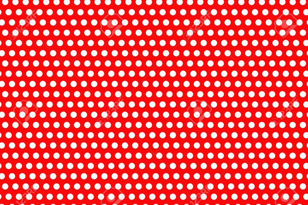 Seamless Polka dot pattern vector illustration - 124209963