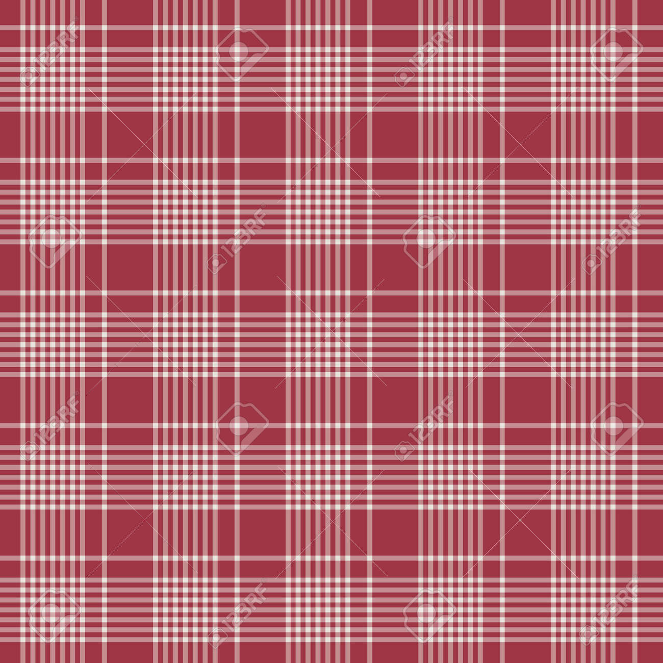 Tartan plaid pattern background. Texture for plaid, tablecloths, clothes, shirts, dresses, paper, bedding, blankets, quilts and other textile products. Vector illustration EPS 10 - 158348435