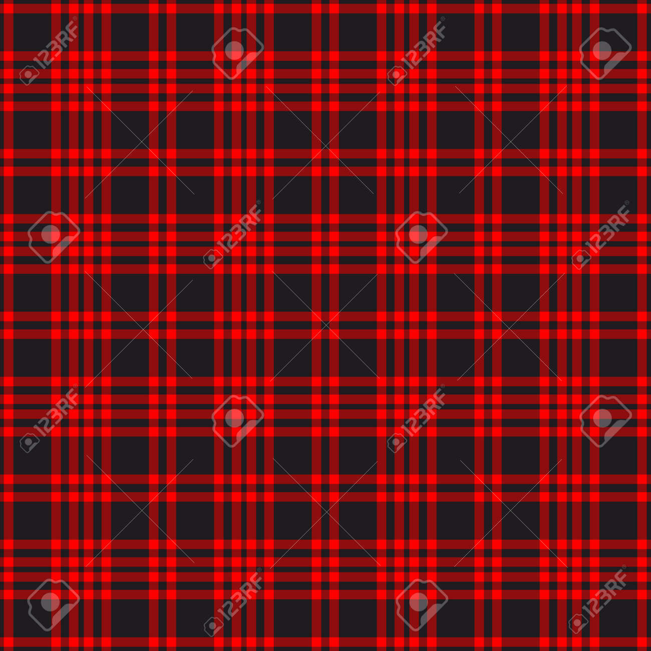 Tartan plaid pattern background. Texture for plaid, tablecloths, clothes, shirts, dresses, paper, bedding, blankets, quilts and other textile products. Vector illustration EPS 10 - 158348444