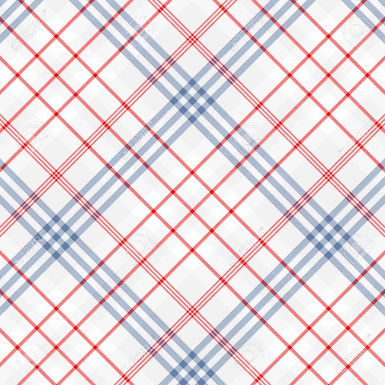 Tartan plaid pattern background. Texture for plaid, tablecloths, clothes, shirts, dresses, paper, bedding, blankets, quilts and other textile products. Vector illustration EPS 10 - 158348571