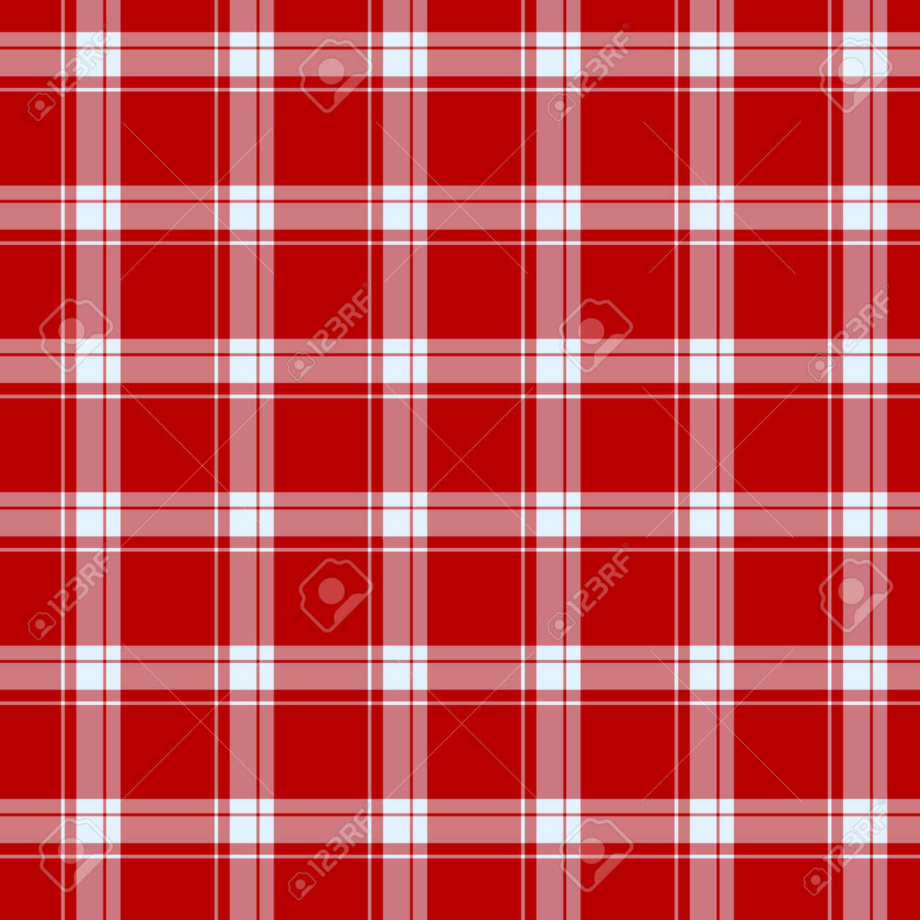 Tartan plaid pattern background. Texture for plaid, tablecloths, clothes, shirts, dresses, paper, bedding, blankets, quilts and other textile products. Vector illustration EPS 10 - 158348598