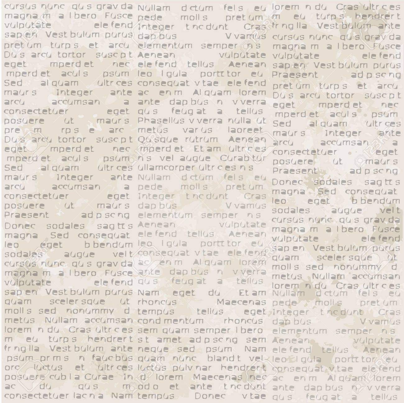Abstract Old Newspaper Seamless Vintage Background Stockfoto
