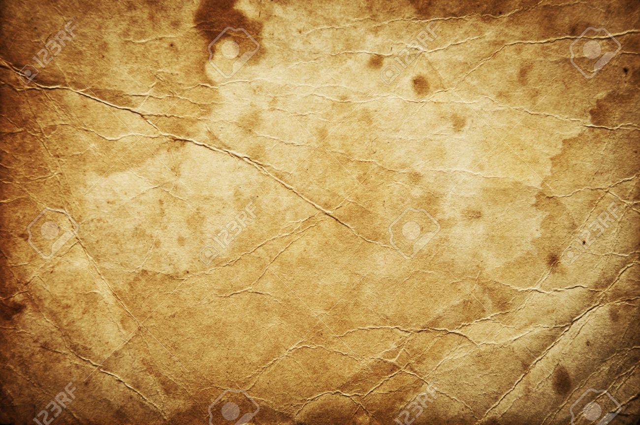 Aged Grunge Paper Background Stock Photo, Picture And Royalty Free ...