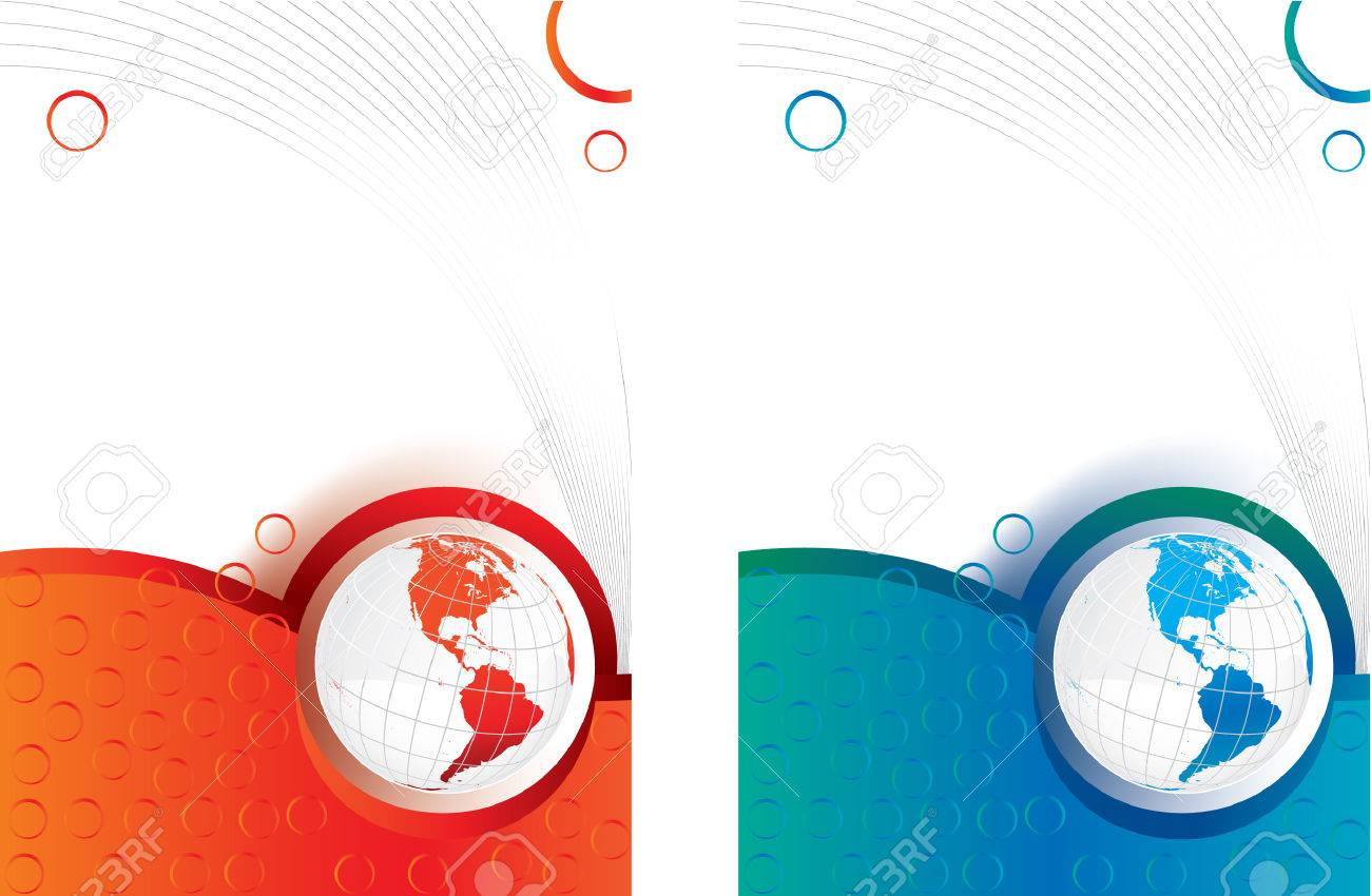 2 business background template with globe royalty free cliparts 2 business background template with globe stock vector 5370743 wajeb Image collections