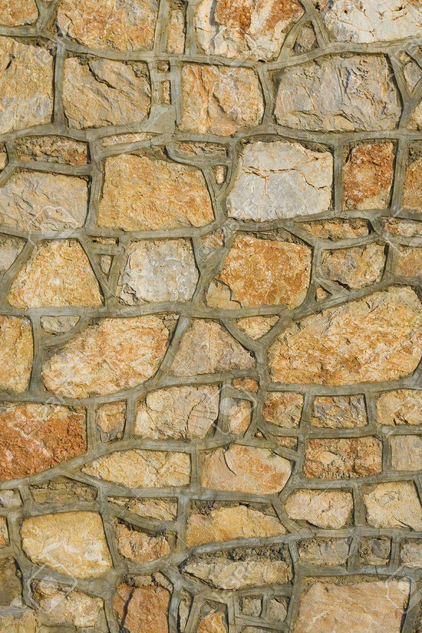 A stone wall texture, nice for architectural texturing. Stock Photo - 3512485