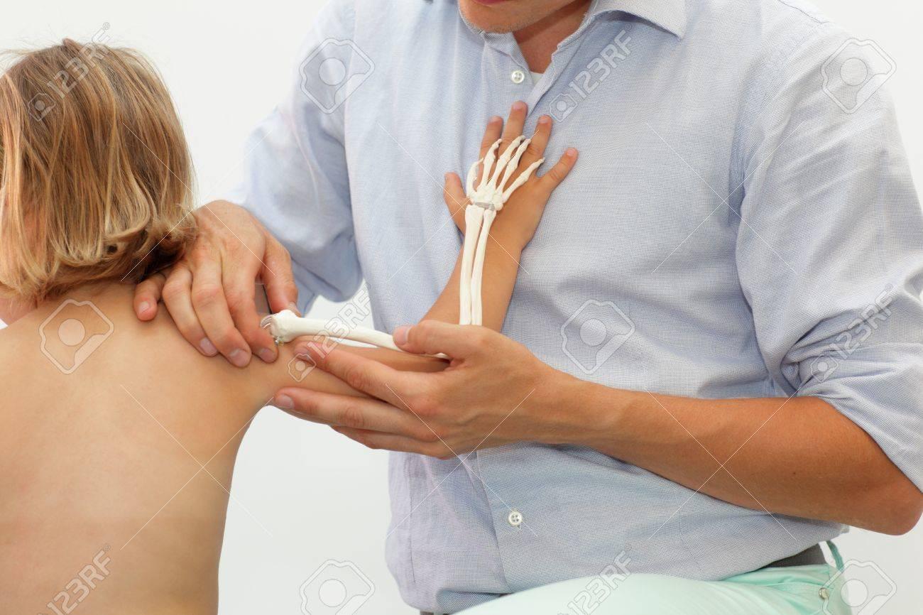 Presentation Of Childs Upper Limb Skeletal System - Anatomy Lesson ...