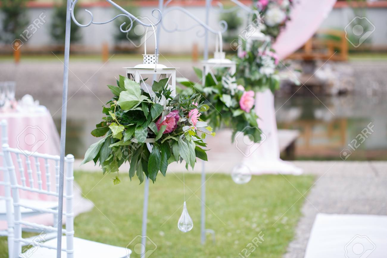 Romantic and delicate decoration for wedding marriage ceremony romantic and delicate decoration for wedding marriage ceremony in the open air stock photo 82978236 junglespirit Image collections