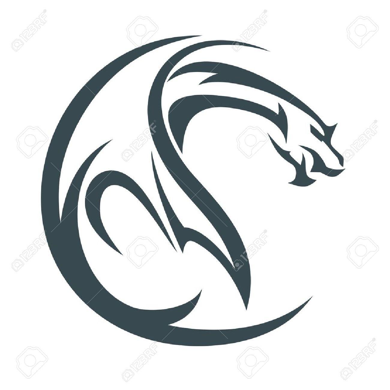 dragon logo vector free alternative clipart design