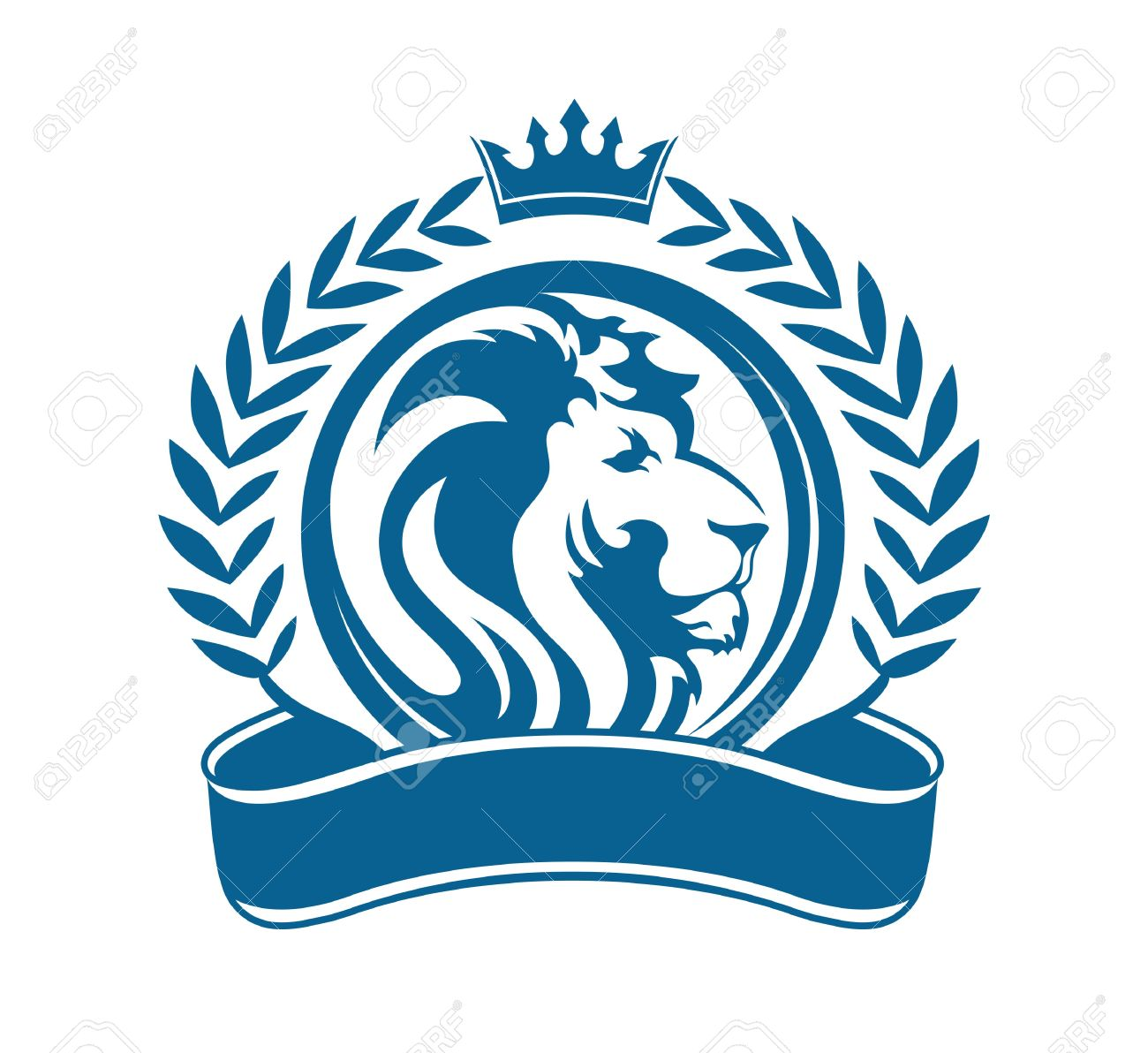 Lion logo stock photos royalty free business images design vector lion head and grain vintage illustration biocorpaavc Gallery