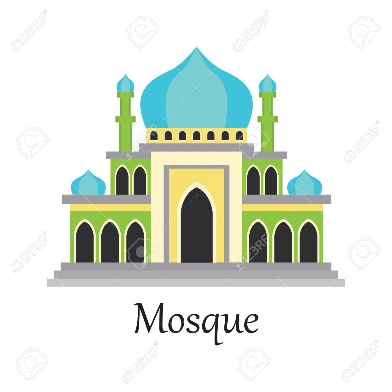 Masjid Vector - Gambar Islami