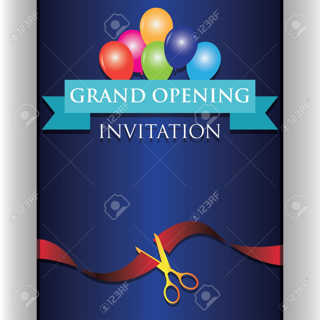 Grand opening invitation poster vector illustration royalty free grand opening invitation poster vector illustration stock vector 80709525 stopboris Image collections