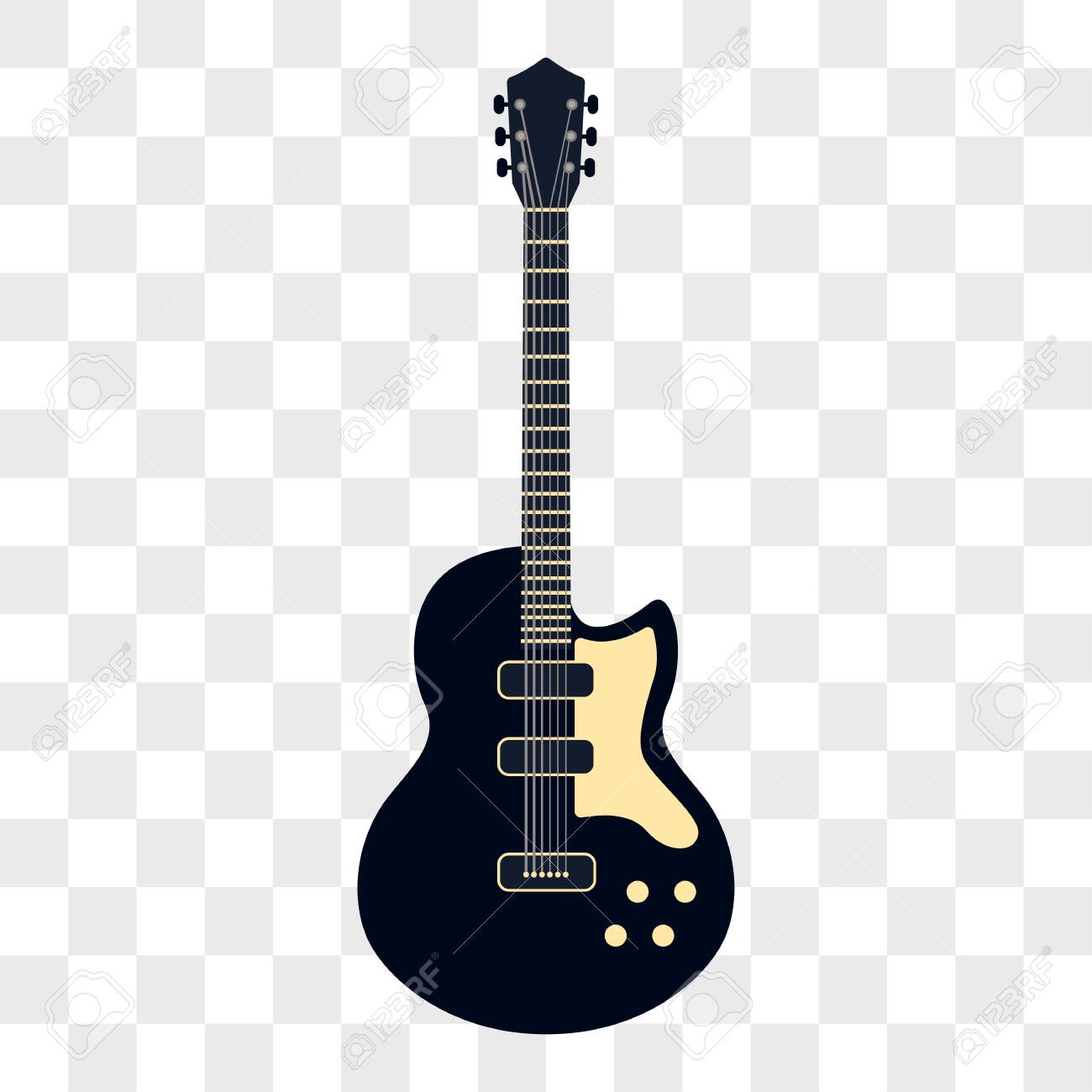 Acoustic Guitar Musical Instruments Isolated On Transparent Background Royalty Free Cliparts Vectors And Stock Illustration Image 124533039