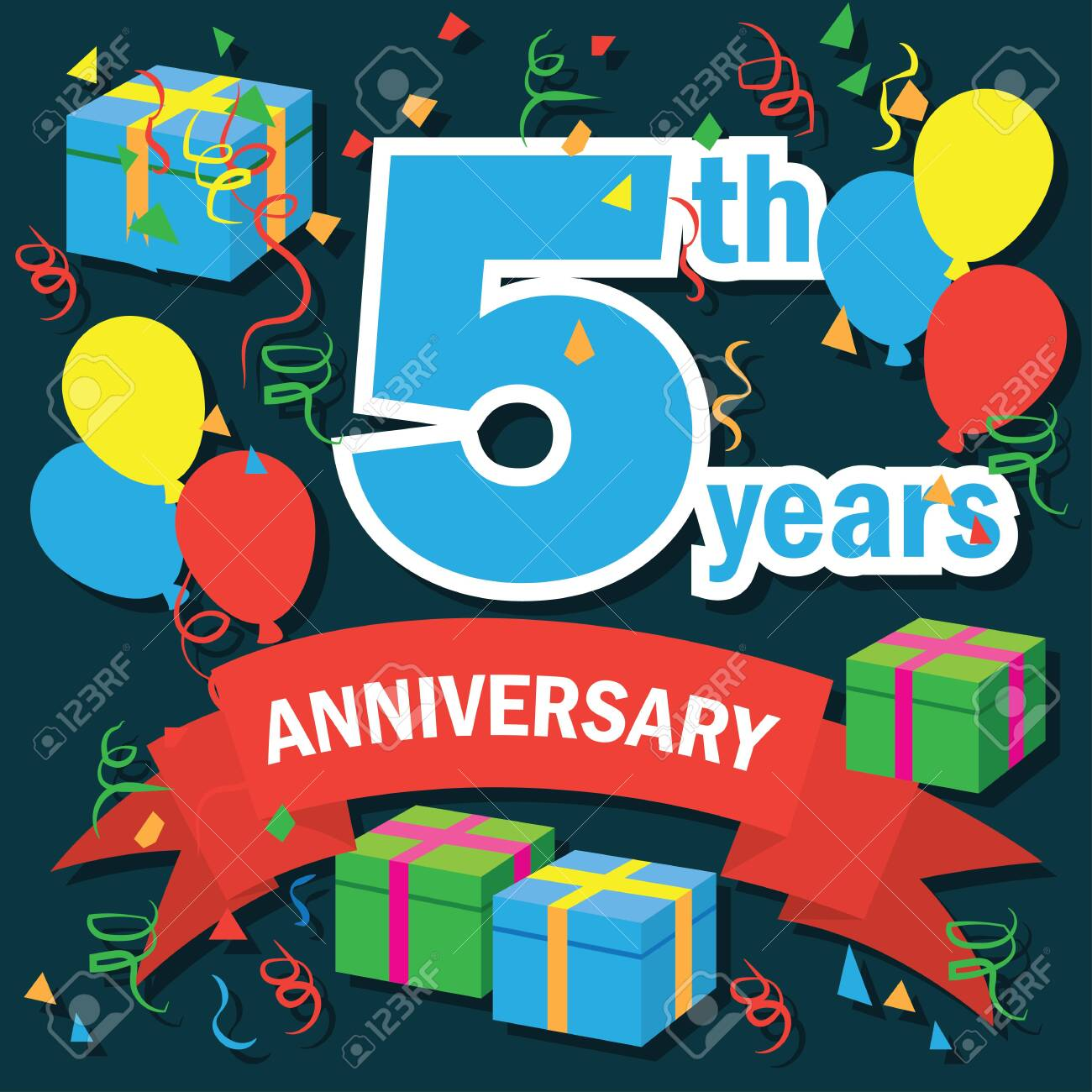 Anniversary clipart 5th, Anniversary 5th Transparent FREE for download on  WebStockReview 2020