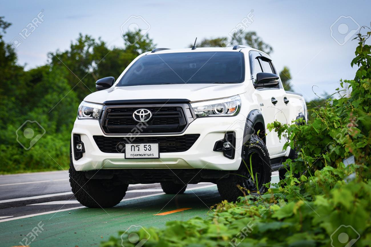 Bangkok Thailand 25 August 2019 New Toyota Hilux Revo Rocco Stock Photo Picture And Royalty Free Image Image 129234293