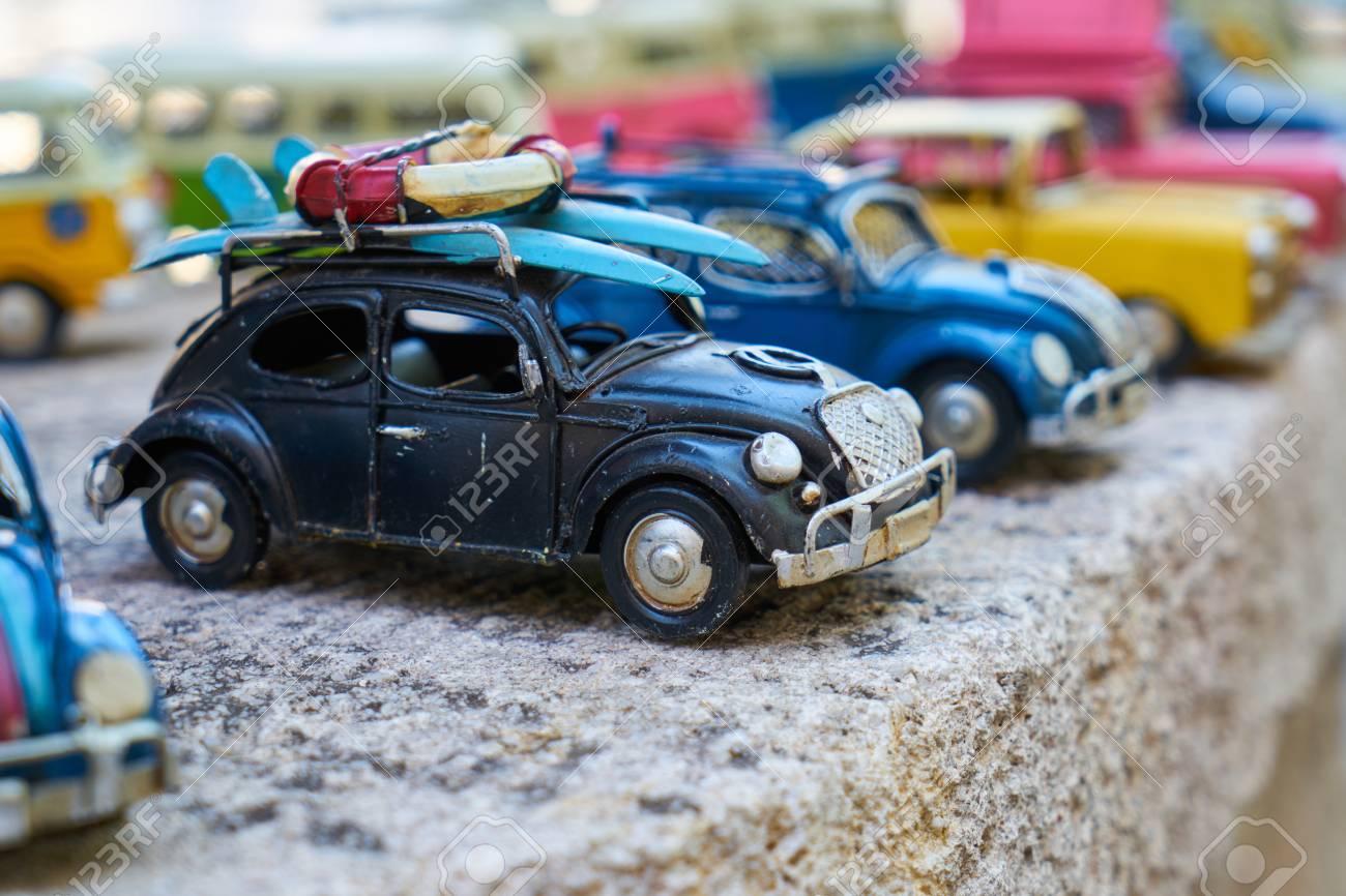 Toy Cars Close Up Background Lizenzfreie Fotos Bilder Und Stock