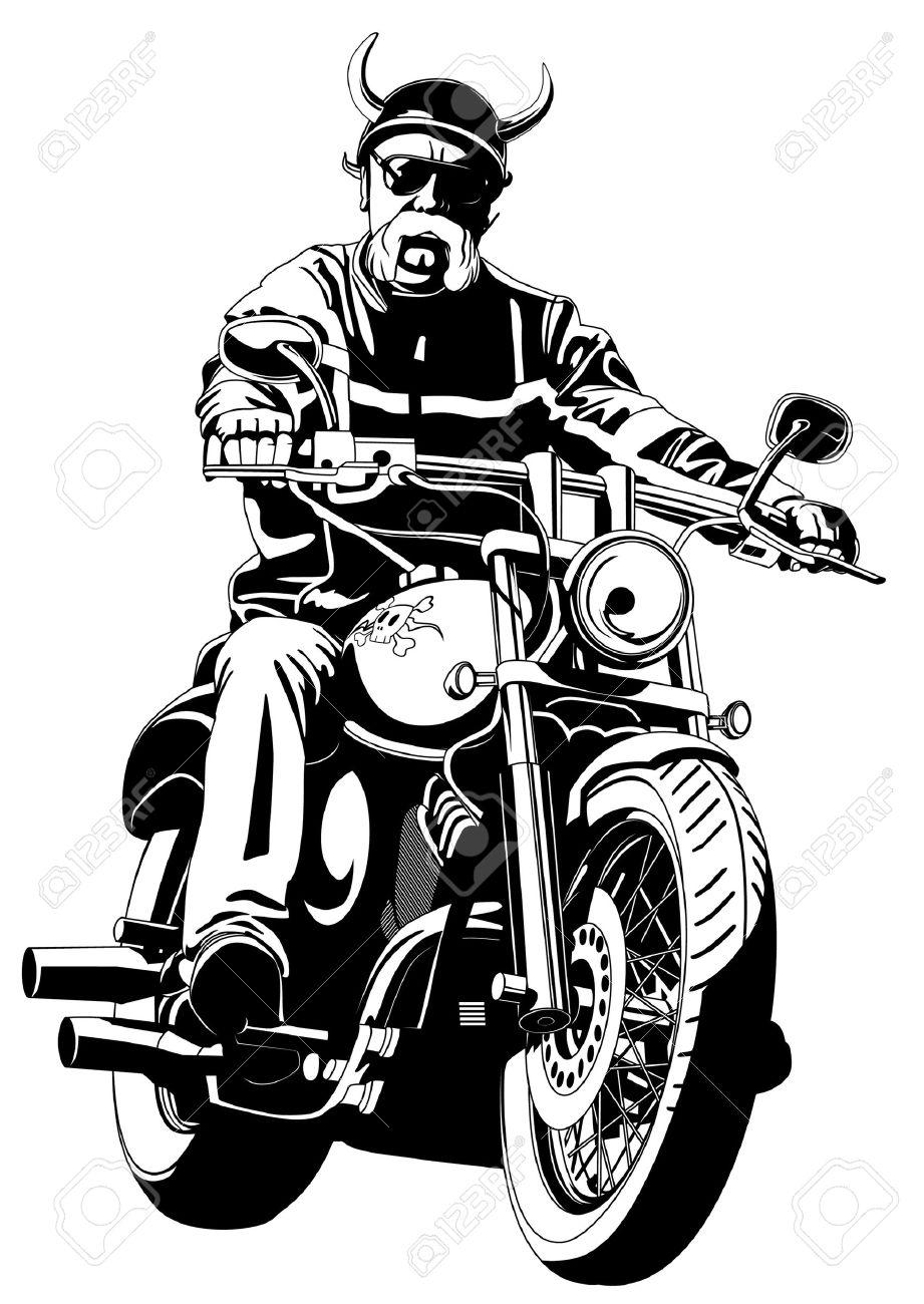 biker Stock Vector - 11351258
