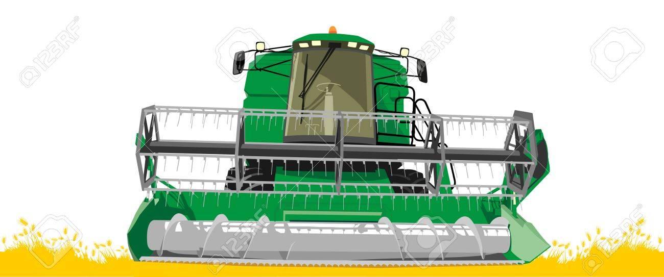 harvester 2 Stock Vector - 19408505