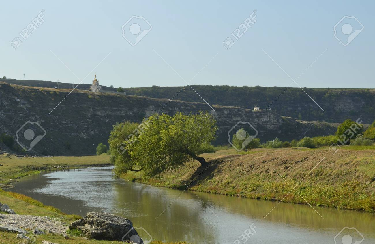 river in Old Orhei Stock Photo - 16691308