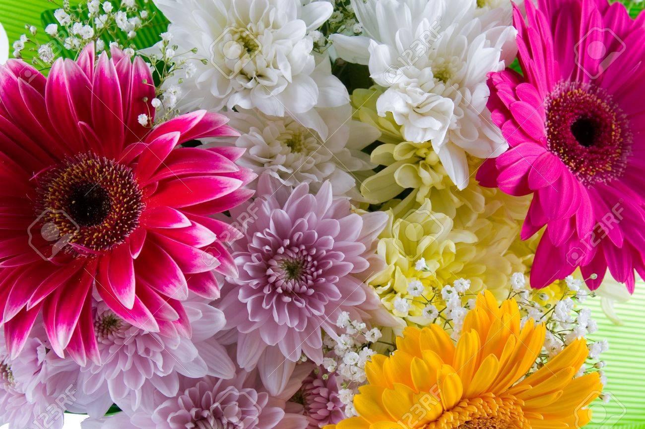 Banque dimages , Bouquet de fleurs magnifiques