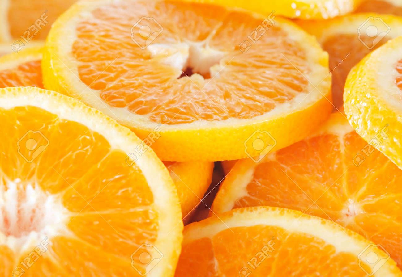 Orange slice background Stock Photo - 511783