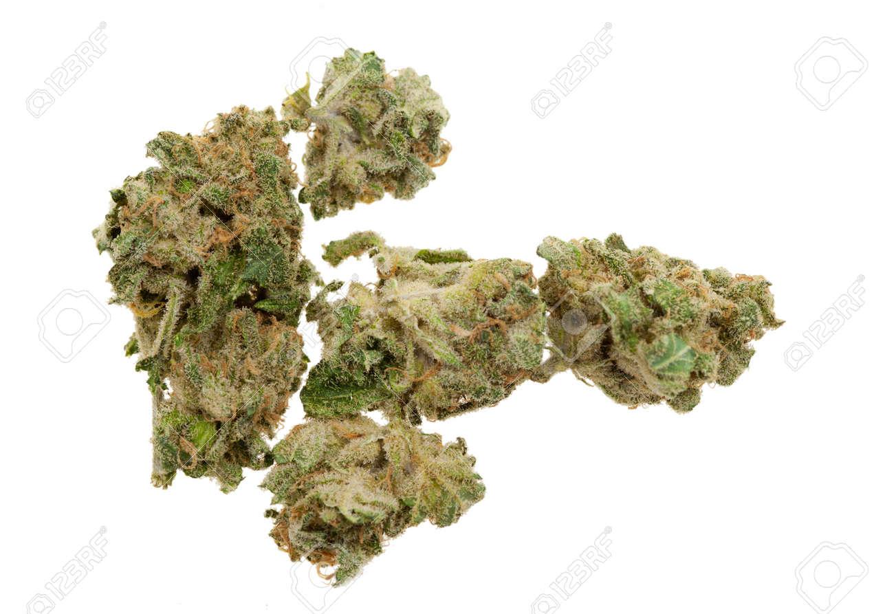 Close up of marijuana (Cannabis) shot with a macro lens Standard-Bild - 8820427