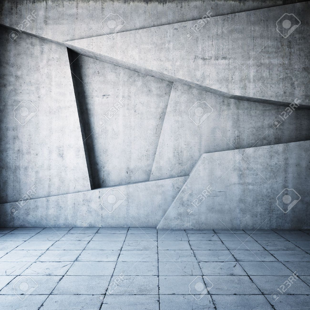 Abstract geometric background of the concrete Stock Photo - 18708258
