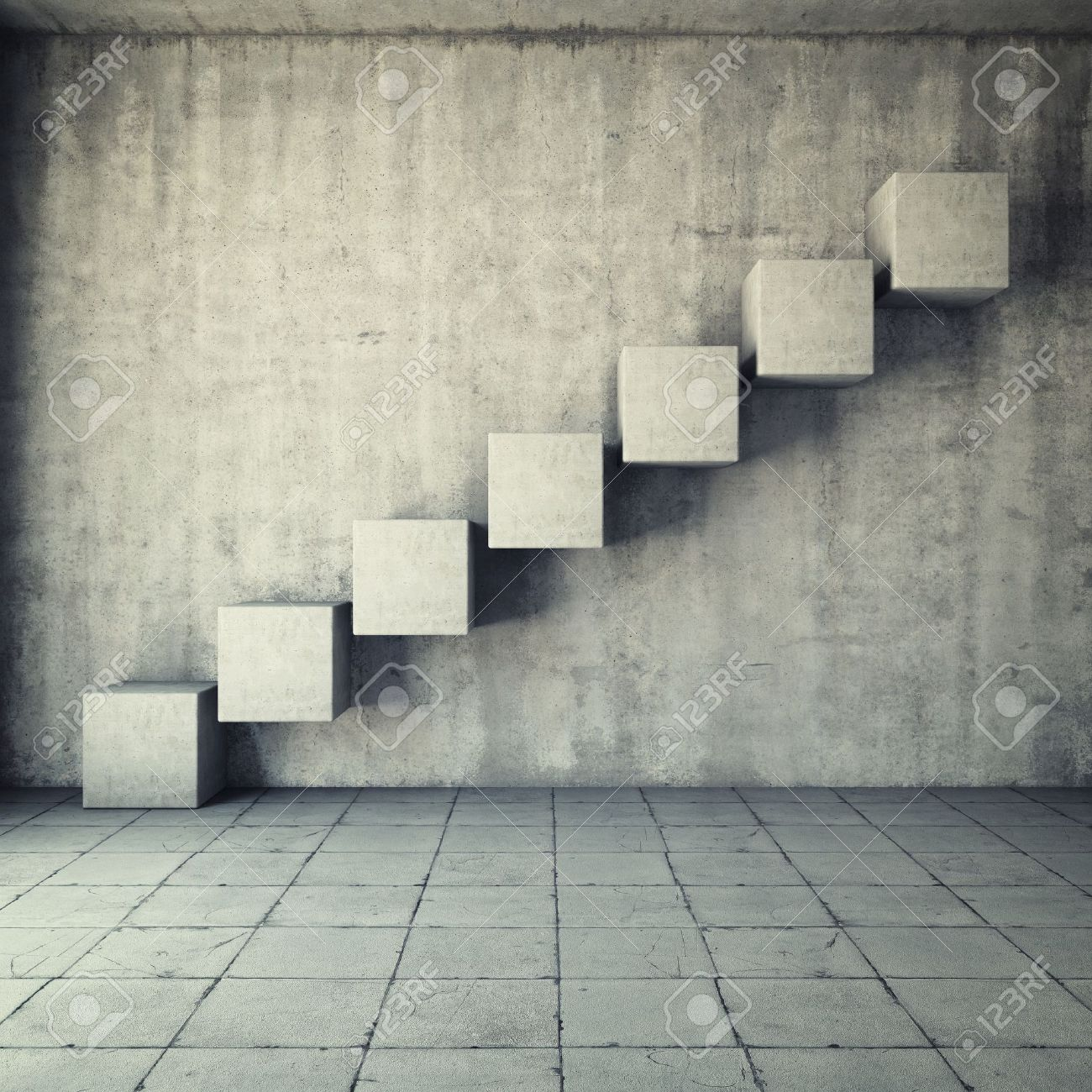 concrete stairs interior stock photos & pictures. royalty free