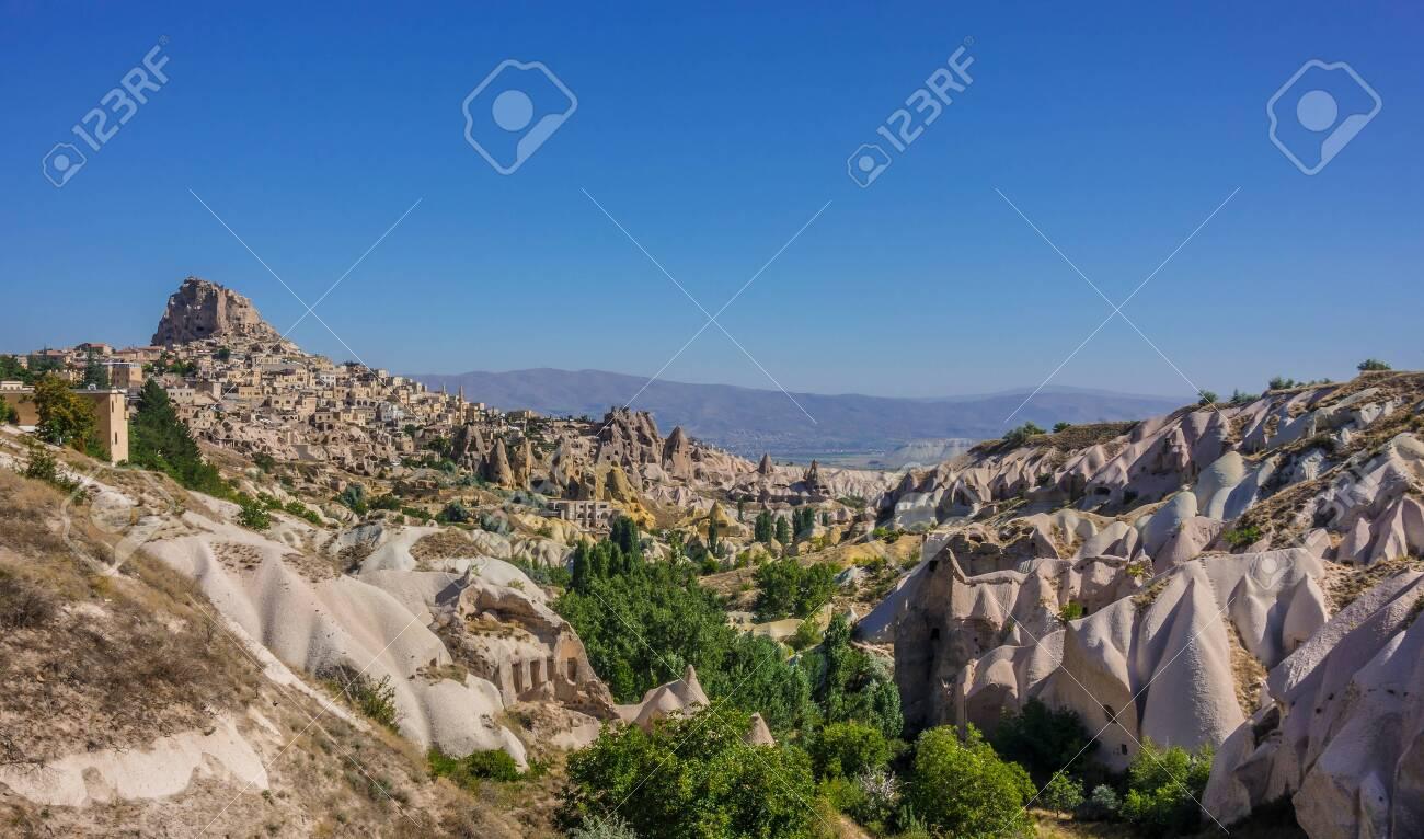 Pigeon valley in a sunny day, Cappadocia Turkey - 147175842