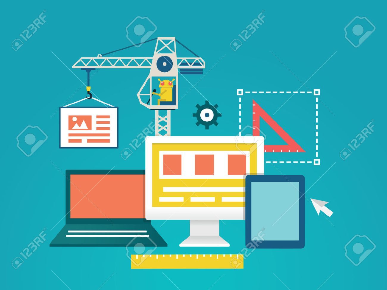 Vector Plana Ilustración De Codificación De Procesos Y Programación De Aplicaciones Móviles Para Dispositivos Diseño Y Programación Ilustración Vectorial Ilustraciones Vectoriales Clip Art Vectorizado Libre De Derechos Image 28525331