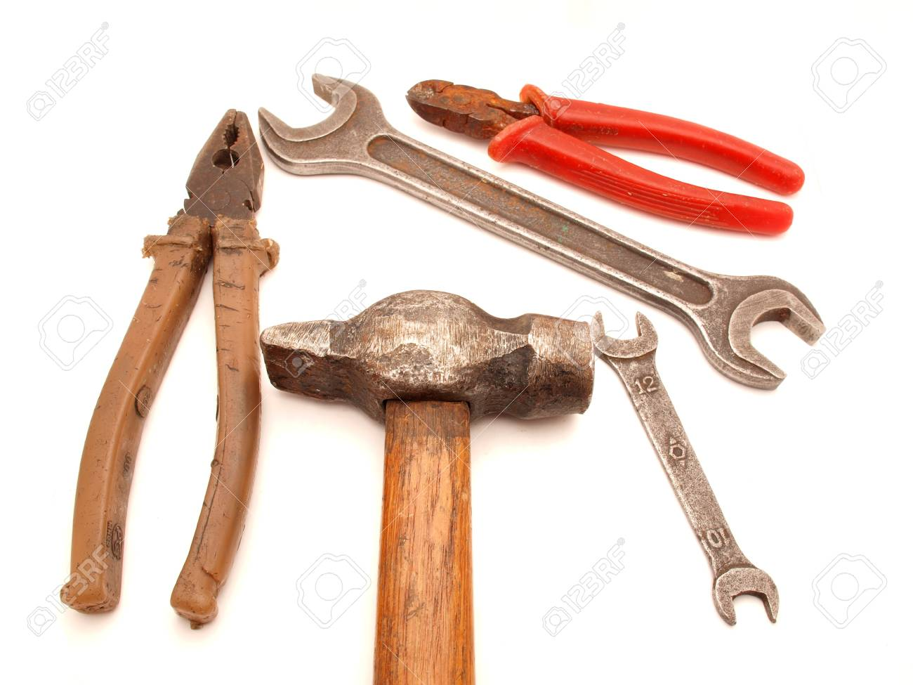The tool on a white background Stock Photo - 7727256