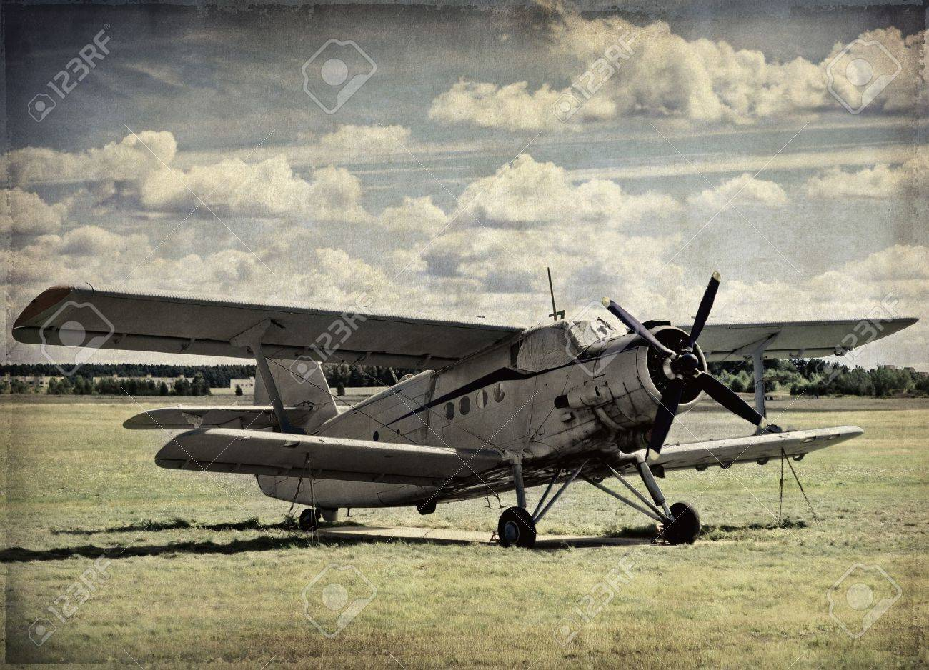 old aircraft vintage background stock photo picture and royalty