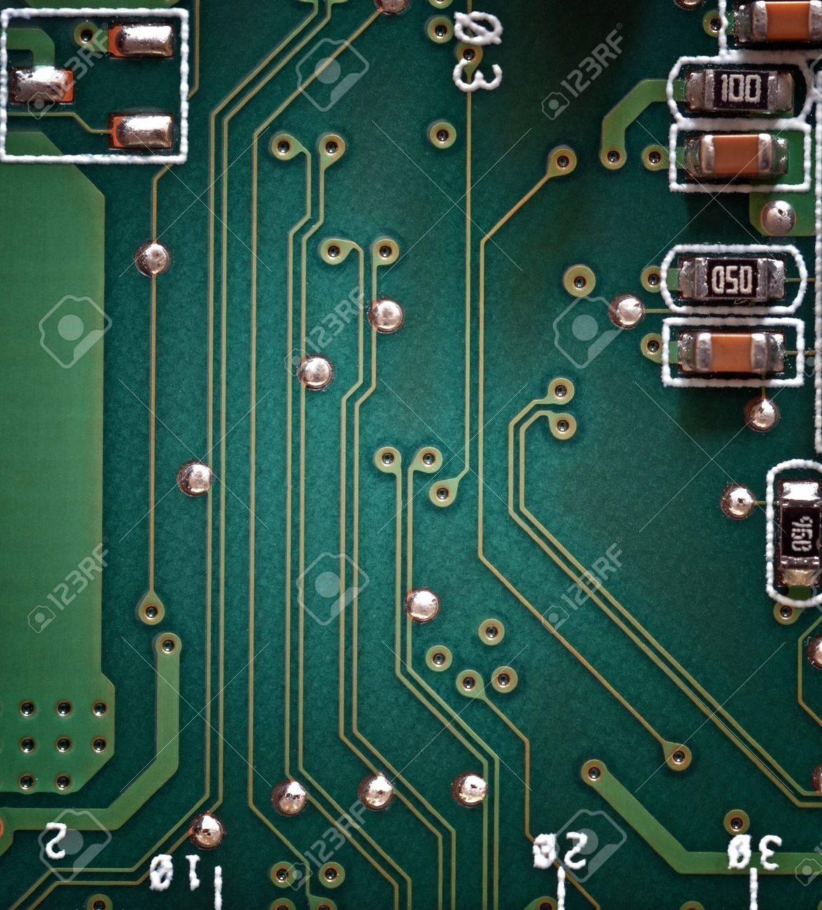 Electronic circuit board Stock Photo - 14524449