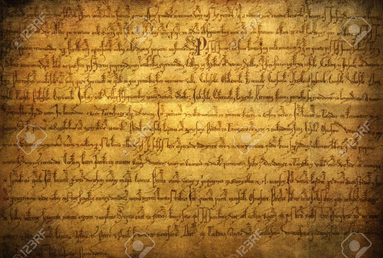 manuscript, old writing paper texture stock photo, picture and