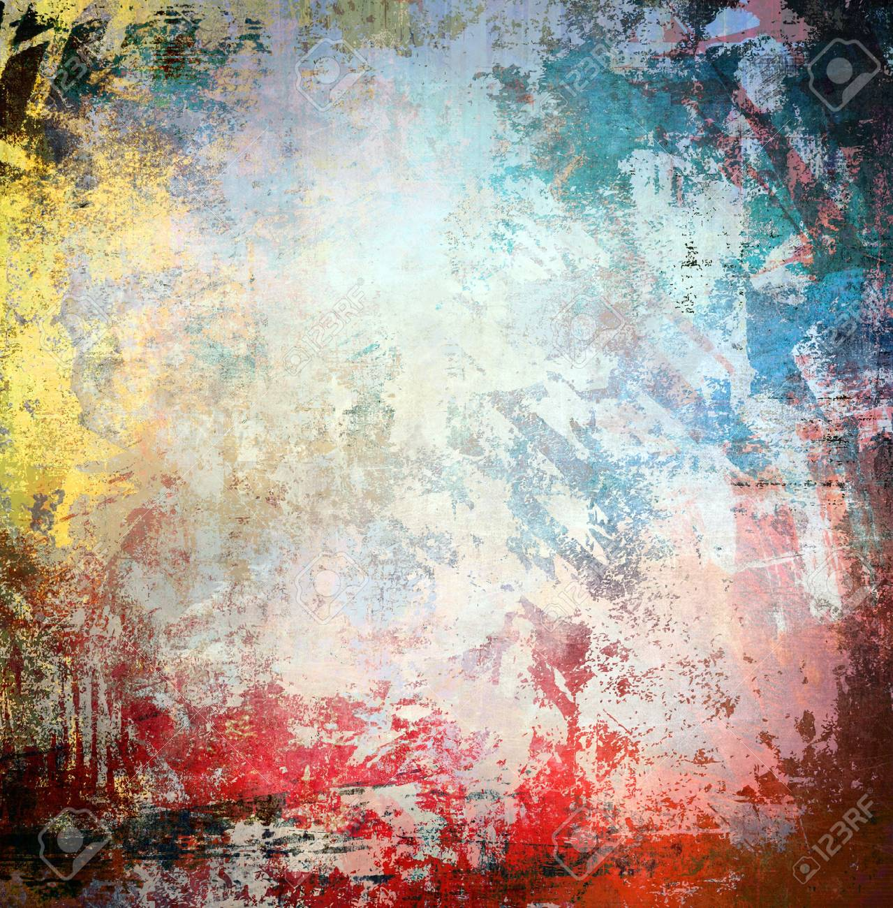Grunge colorful background Stock Photo - 15070614