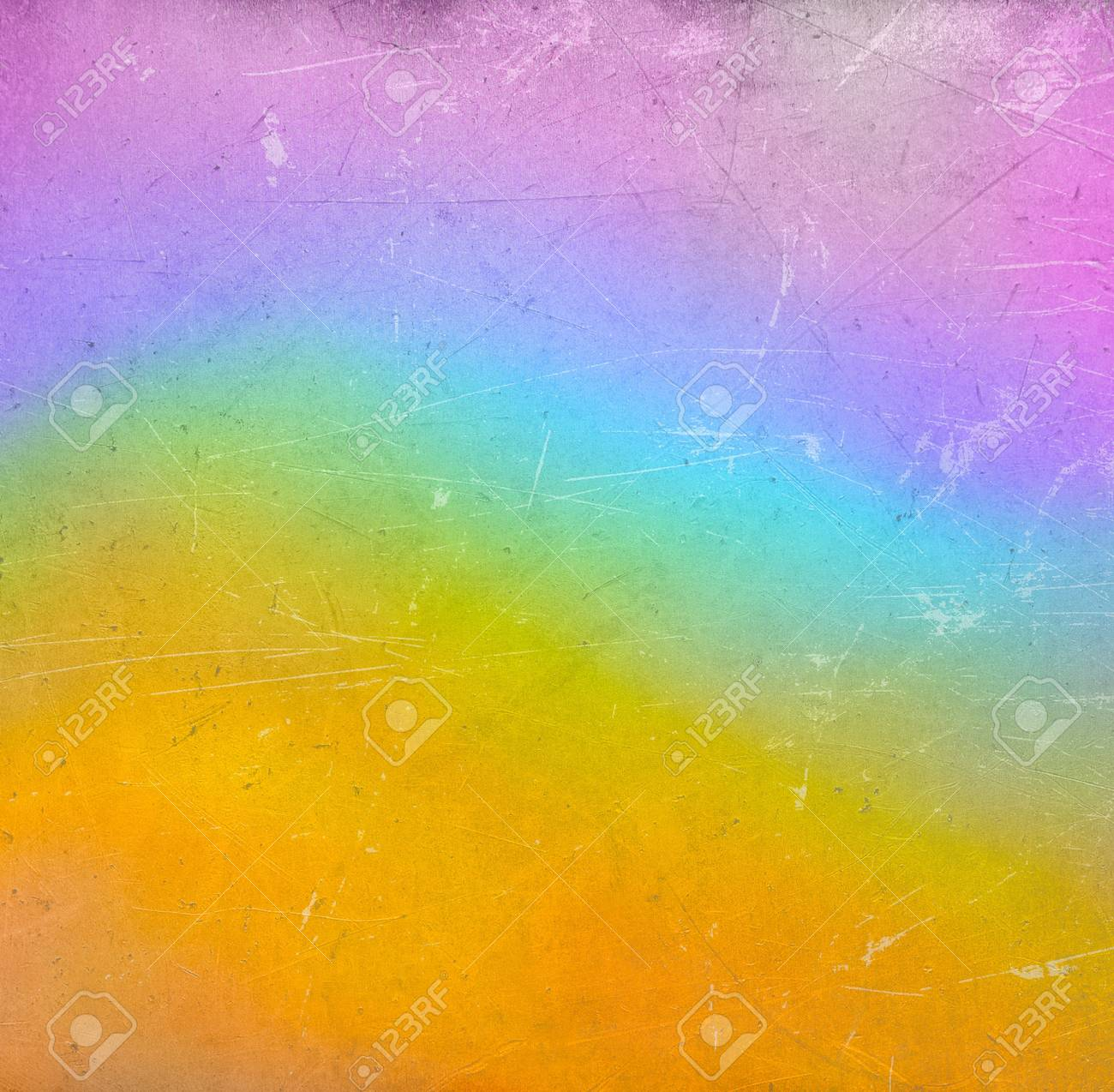 Colorful scratched vintage background Stock Photo - 20959829