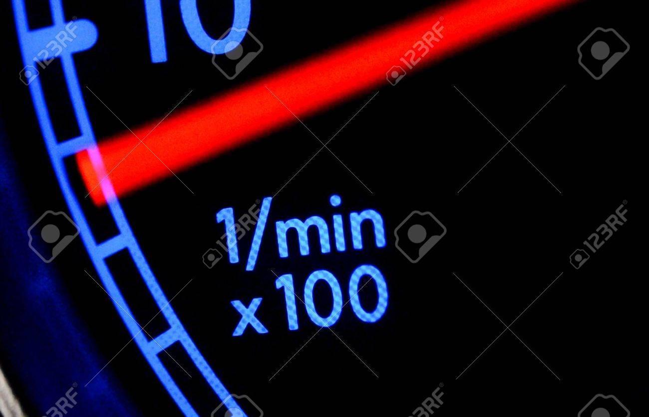 Tachometer close up Stock Photo - 20959867