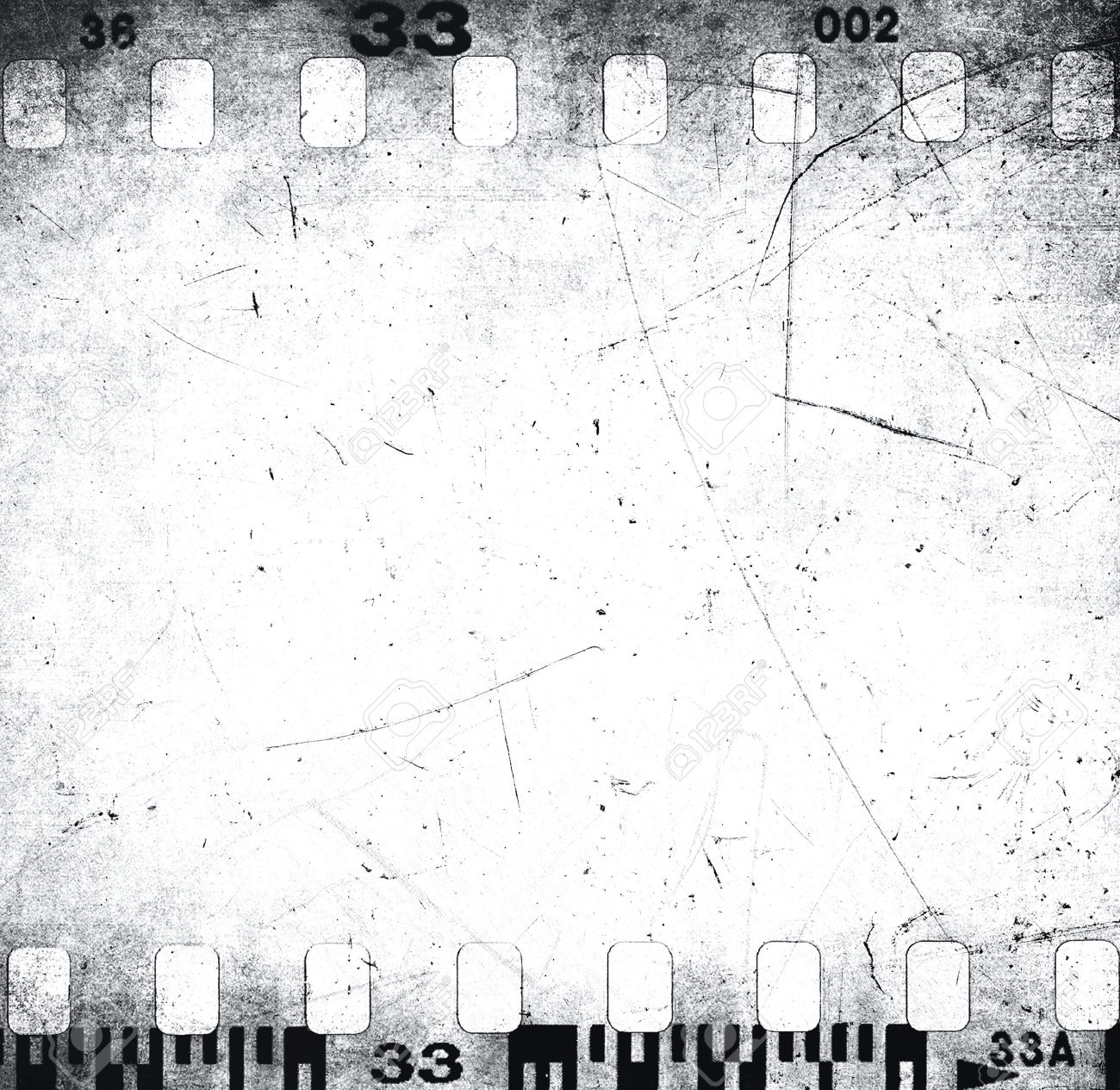 Scratched filmstrip texture Stock Photo - 21086453