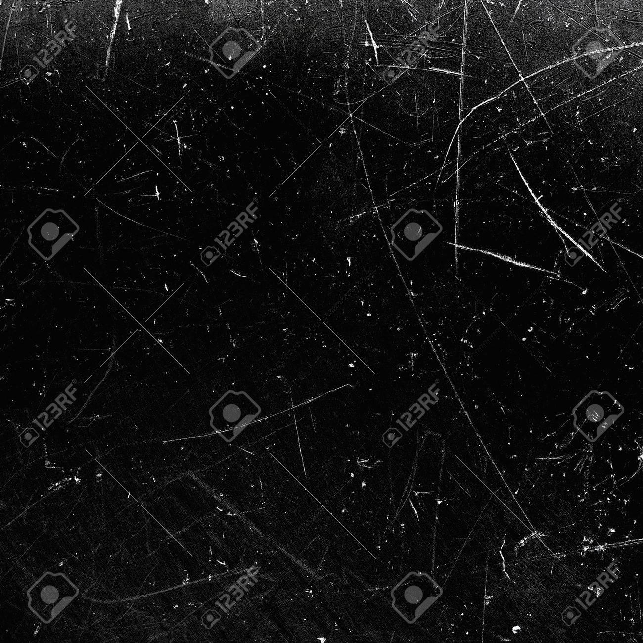 Black scratched texture - 31127907