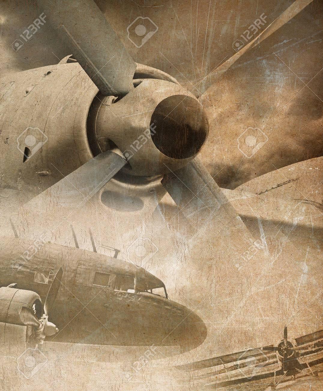 Aviation grunge background - 31127947
